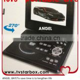10.5''portable dvd/divx/with tv/sd card/usb/game/fm player