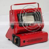 dual-use gas heater & BBQ stove