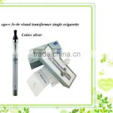 2013 New arrival ecig variable voltage battery eGo V with mini USB port for charging and LED screen eGo V ecig starter kit