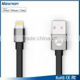 MFI Certified Factory Sale Flat Micro USB Data Cable For 8pin USB Cable                                                                         Quality Choice