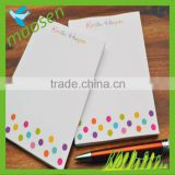 Cheap custom note pad beautiful note pad bookmark memo note pad