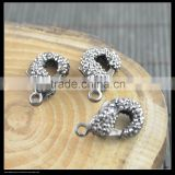 LFD-00C5 New Crystal Rhinestone Paved Lobster Clasps For Jewelry Making Bracelet Necklace Finding