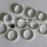 Canted coil spring energized PTFE seal
