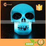 Color Change Decoration LED Lamp Night Light Candle Flash Kids Skull For Halloween Party