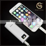 Multi-fuction Customized Logo fast charging external power bank removable battery distributor