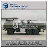 6x6 12000L 14000L 16000L SS304 SS316 stainless steel water tank truck with cargo truck water cannon