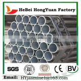 Galvanized Round Steel Pipe/ Round Steel Tube/ Galvanized Hollow Section Steel Pipe In HeBeing HongYuan