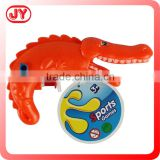 Cute animal design water jet toys plastic water gun