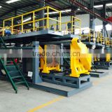 Fully automatic extrusion blow molding machine for HDPE / PE road barriel and road block