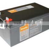 big ups lead acid battery 12v 250ah maintenance free solar battery operated lamps