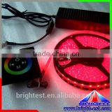 2016 hot sales New 5050 SMD 60LED/M 5m/Roll RGB LED Strip Light(with IR 24keys remote controoler)