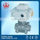 Stainless steel din ball valve/stainless steel threaded ball valve/stainless steel electric ball valve