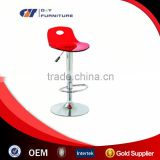 2016 Red acrylic bar stool high chair