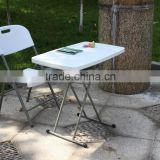 Modern children plastic chair and table, portable kids folding table and chair
