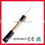 low loss coaxial rg6 type cable 75oHM for cable tv