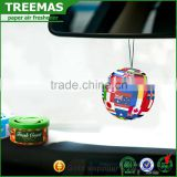 Custom air freshener made in guangzhou car scent air freshener hanging free car air fresheners