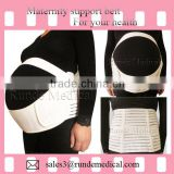 XZL-B-005C Maternity Belt, Pregnancy Belt for Back Support, Breathable Abdominal Binder,XXXXL SIZE, White color