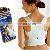 Power Magnetic Posture Sport Back Support Strap Postural Correction Belt
