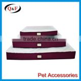 high quality fashional memory foam pet bed