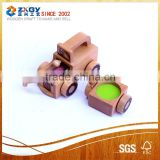 Construction Set-Jeep Car Wooden Toys Model Making