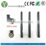 foldable Wireless rubber multi-band Omni-Directional 3dbi 900/1800 mhz GSM Antenna With SMA male