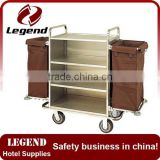 High quality customized housekeeping maid trolley for hotel
