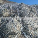 side slope protection fence ,slope protection in stainless steel wire mesh/HEBEITUOSHENG