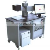 Thorough Technical 50W Press Button Laser Marking Machine for Metal