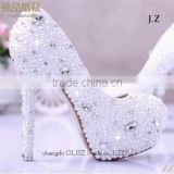 OW16 Women Dream Diamond High-heeled Gorgeous Wedding Dancing Shoes