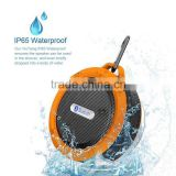 New Mobile Phone out sport bluetooth speaker waterproof with suction cup