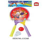 Hot sale summer beach toys plastic tennis racket outdoor toys and games
