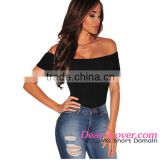 Wholesale Sexy Black Off Shoulder Transparent Sleepwear For Women