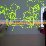IR magnetic dual pen interactive whiteboard