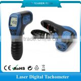 Accuracy digital inductive tachometer and hour meter snowmobile generator