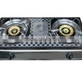 gas burner--stainless steel panel iron or brass burner