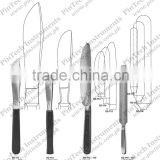 Autopsy and Cartilage Surgical Knives Medical Instruments Virchow Knife
