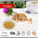 High quality Herbal Medicinal 80% Milk Thistle Wholesale, Natural Pure Milk Thistle Capsule