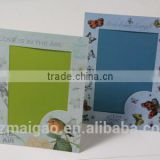 Photo frame card,fancy card, card with foot, spot UV card, butterfly card