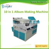10 in 1multifunctional wedding picture/photo/album book maker/ making machine price