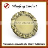 Menufacture Supply Gold silver bronze custom sports award medallion engraved souvenir metal medals