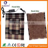 Safety electric heating winter wool blanket portable for car                                                                         Quality Choice