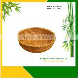 Wholesale low price with rattan fruit bowl.