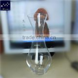 Elegant A grade Clear Lead Free Crystal glass wine decanter glassware                                                                         Quality Choice