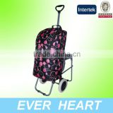 2014 cooler bag folding shopping cart with wheel chair