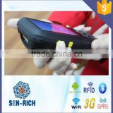 Handheld Android PDA with Barcode Scanner,NFC / RFID Reader,WIFI,GPS,Bluetooth,Phone Call