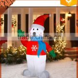 2015 New Christmas inflatable christmas bear Decoration, polar bear for christmas decoration