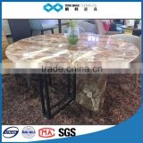 TB living room center table italian marble inlay table top