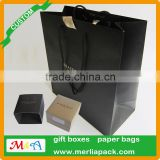 GIFT PAPER BAG SMALL SILVER BLACK SUNGLASS WATCH JEWELLERY BANGLE BAGS