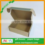Natural Brown Corrugated Shipping Box 8x4x3'' inch Cardboard Carton Packing Mailer Boxes