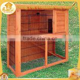 Fancy Outdoor Wooden 2 Storey Rabbit Hutch With Wire Run Pet Cages,Carriers & Houses